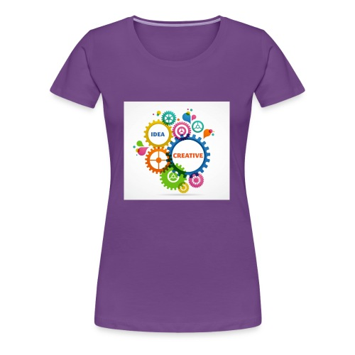 Think Outside the box - Women's Premium T-Shirt