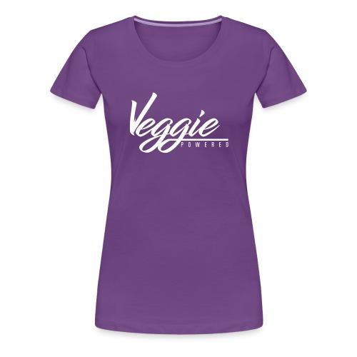 Veggie Powered - Women's Premium T-Shirt