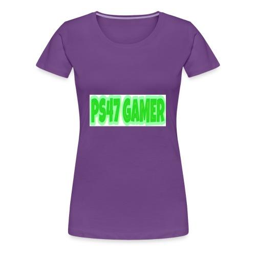 PS47 OFFICIAL GAMERTAG - Women's Premium T-Shirt