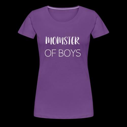 MOMOFBOYSWHITE - Women's Premium T-Shirt