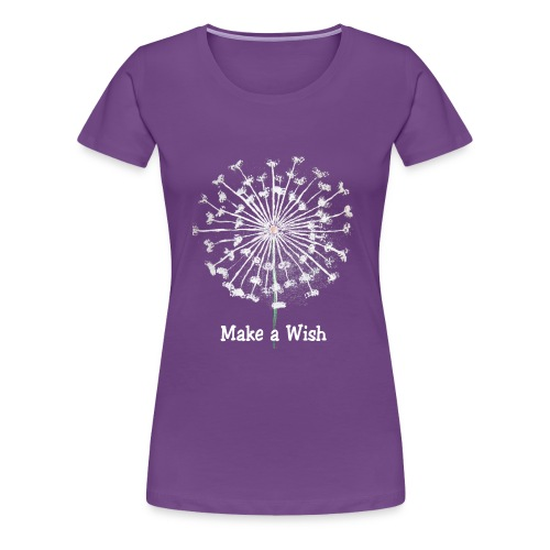Make a Wish - Women's Premium T-Shirt