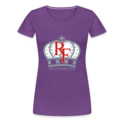 Rich forever Crown 3 5 - Women's Premium T-Shirt