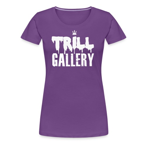 Trill Gallery Main Logo - Women's Premium T-Shirt