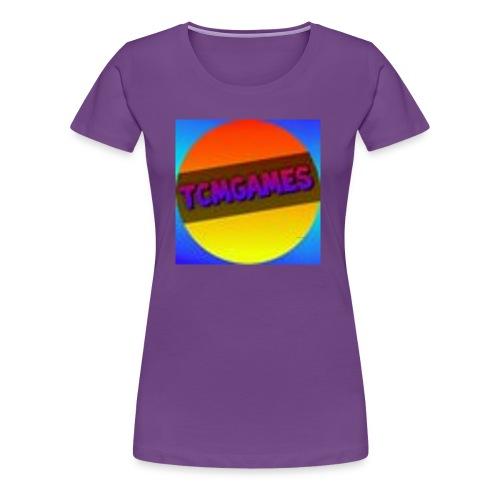 TCMGames NEW MERCH! - Women's Premium T-Shirt