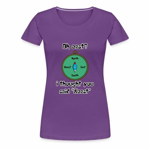 Weast - Women's Premium T-Shirt