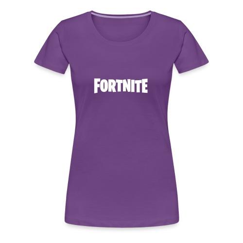 Fortnite Logo - Women's Premium T-Shirt