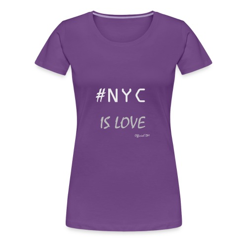 DM Official NYC is Love - Women's Premium T-Shirt