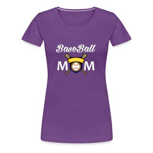 BaseBall mom Shirt Love Baseball - Women's Premium T-Shirt