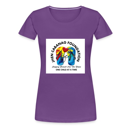 JHEN CABANAG FOUNDATION INTERNATIONAL Logo - Women's Premium T-Shirt