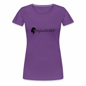 alphaMARE emblem left - Women's Premium T-Shirt