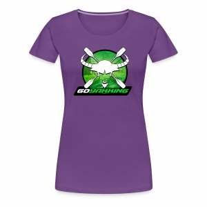 Go Yakking on Green - Women's Premium T-Shirt