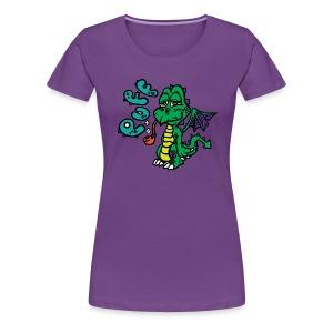 Puff the Magic Dragon - Women's Premium T-Shirt