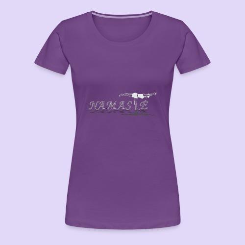 Balancing Stick Namaste-light - Women's Premium T-Shirt