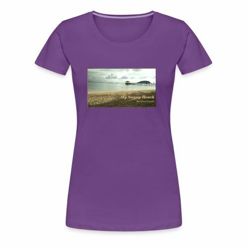 My Sunny Beach - Women's Premium T-Shirt