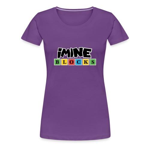 iMine Blocks 2 - Women's Premium T-Shirt