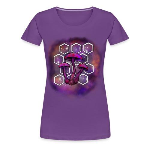 mushroom galaxy - Women's Premium T-Shirt