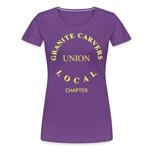 Granite Carvers Union - Women's Premium T-Shirt