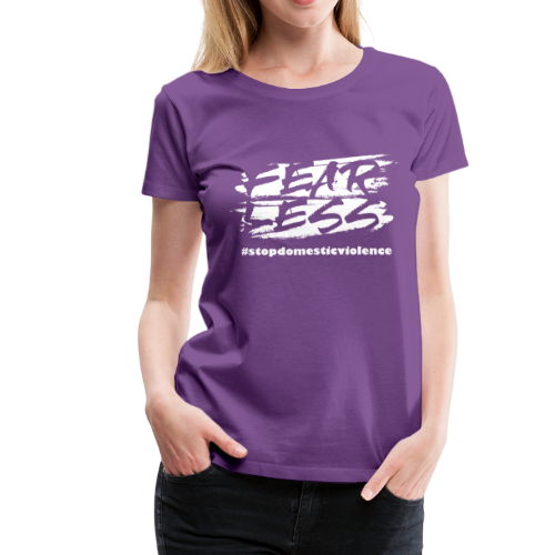 Purple October Limited Edition Domestic Violence - Women's Premium T-Shirt