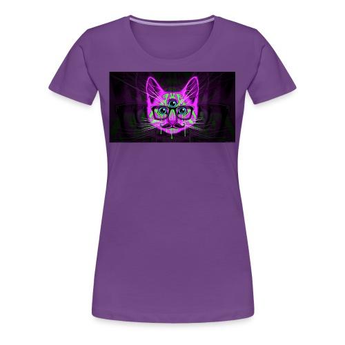 Meow Illuminati - Women's Premium T-Shirt