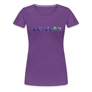 LevelUp Icon - Women's Premium T-Shirt