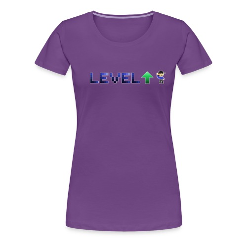 LevelUp Icon - Women's Premium T-Shirt