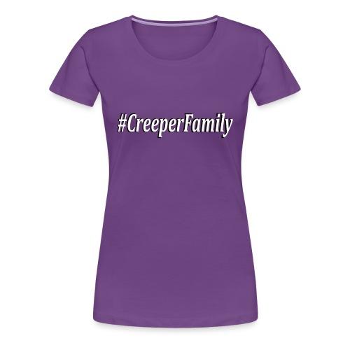 #CreeperFamily logo - Women's Premium T-Shirt