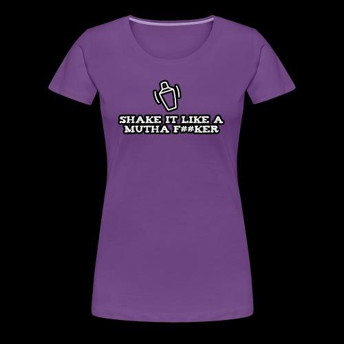 SILAMF #02 - Women's Premium T-Shirt