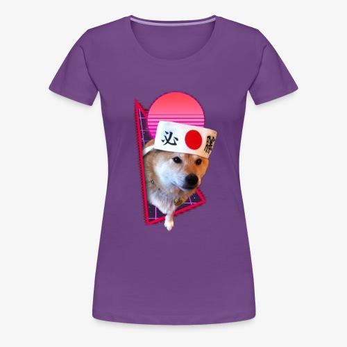 Retro Shiba - Women's Premium T-Shirt