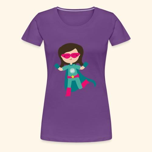 Girls Rule Logo - Women's Premium T-Shirt