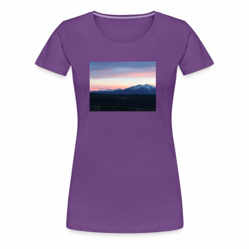 Her Majesty Mt Sopris - Women's Premium T-Shirt