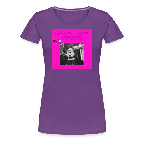 Women's Shirt on Old Lucky Street - Women's Premium T-Shirt