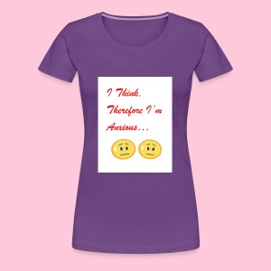 Anxious shirt - Women's Premium T-Shirt