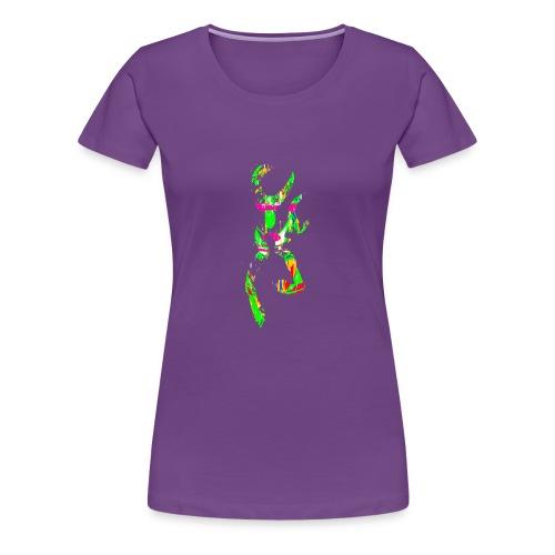 multi color deer - Women's Premium T-Shirt