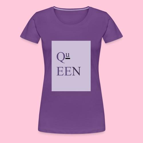 Queen shirt - Women's Premium T-Shirt