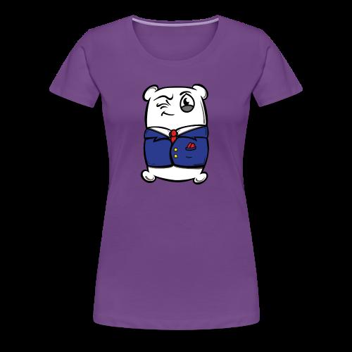 Classic Mr. Pillow Suit - Women's Premium T-Shirt