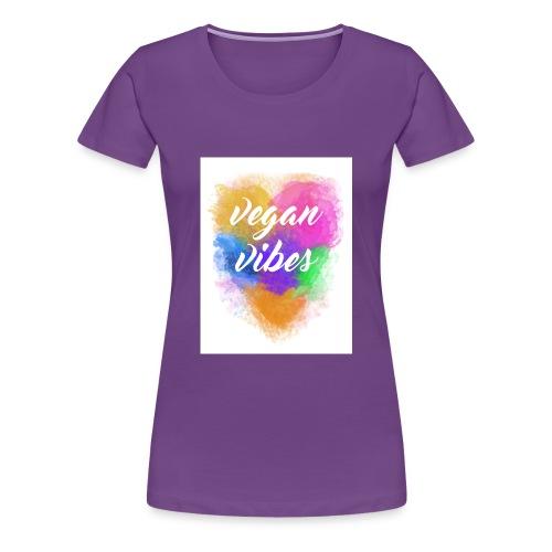 Vegan Vibes - Women's Premium T-Shirt