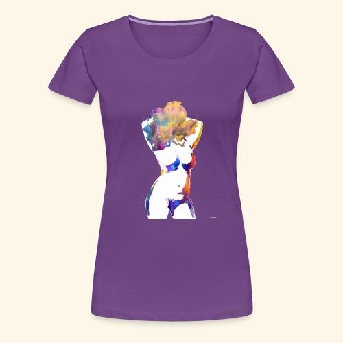 Flower Power Babe - Women's Premium T-Shirt