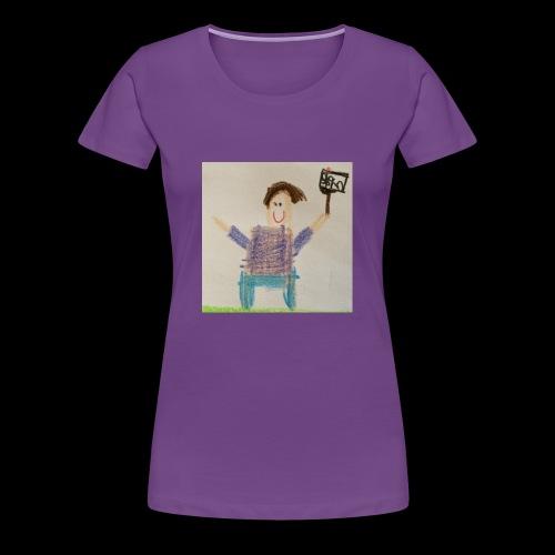 Majesticpig Productions logo - Women's Premium T-Shirt