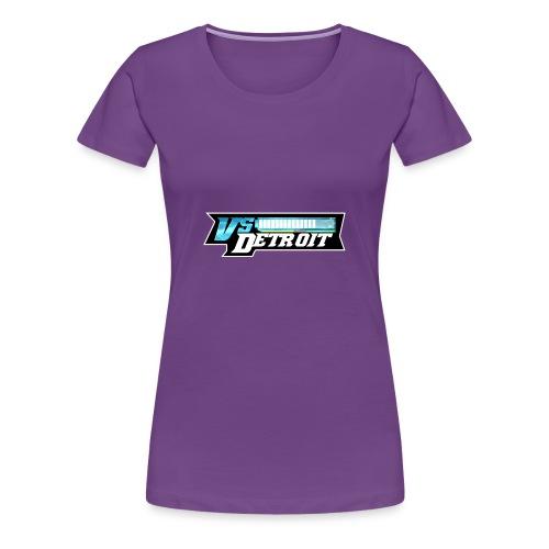 vsDetroit Logo - Women's Premium T-Shirt