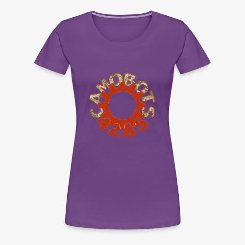 camo logo new - Women's Premium T-Shirt