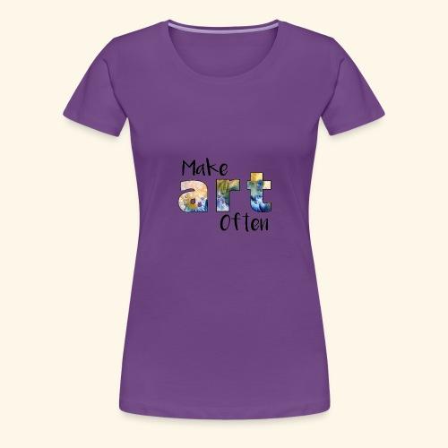 Make Art Often - Women's Premium T-Shirt