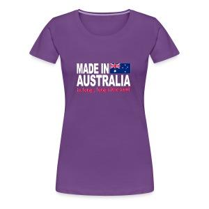 Made in Australia a long long time ago - Women's Premium T-Shirt