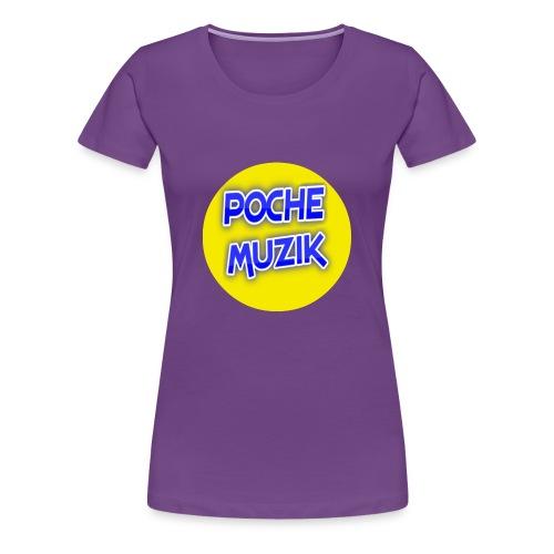 poche MUZIK - Women's Premium T-Shirt