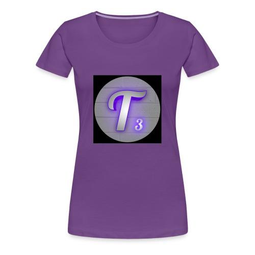 Black T3 - Women's Premium T-Shirt