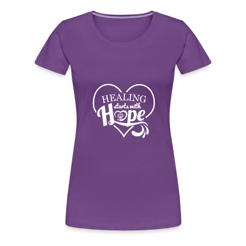 Healing with Hope - Women's Premium T-Shirt