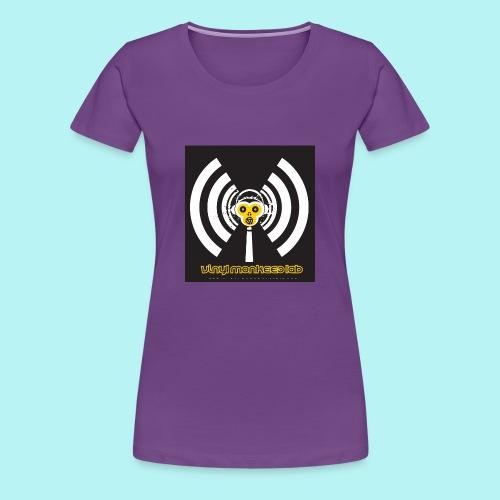 Vinyl Monkees LAB - Women's Premium T-Shirt