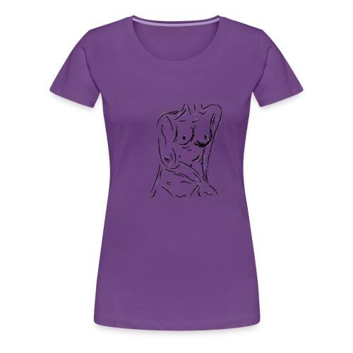 Esquisse - Women's Premium T-Shirt