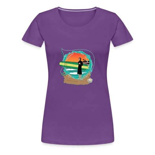 #foreverYoung White Tee - Women's Premium T-Shirt