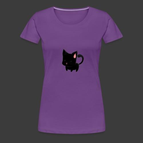 black cat hoodie - Women's Premium T-Shirt