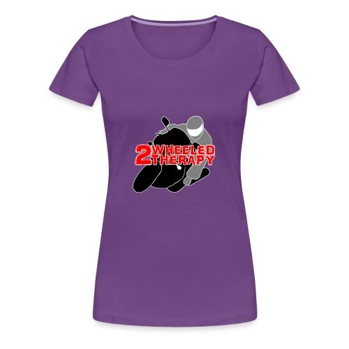 2 Wheeled Thereapy - Women's Premium T-Shirt